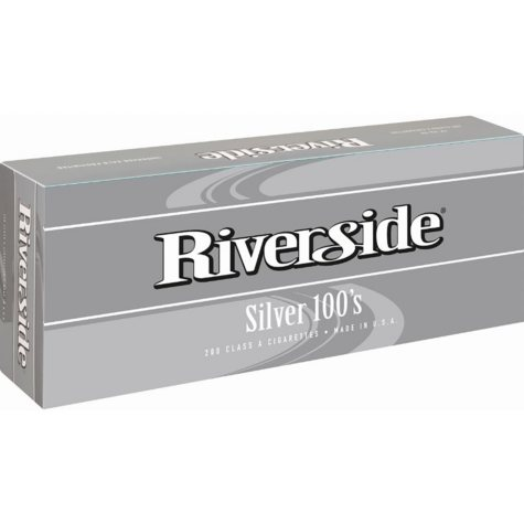 Riverside Silver 100s Soft Pack (20 ct., 10 pk.)