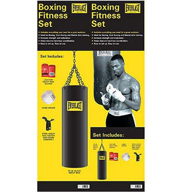 Everlast Boxing Fitness Set