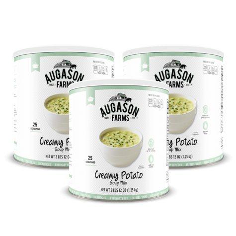 Augason Farms Creamy Potato Soup Mix (44 oz., 3 pk.)