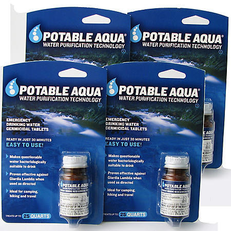 Augason Farms Potable Germicidal Water Tablets - 200 Count