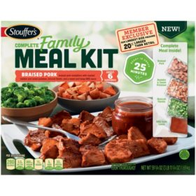 Stouffer's Complete Family Meal Kit, Braised Pork (59.75 oz.)