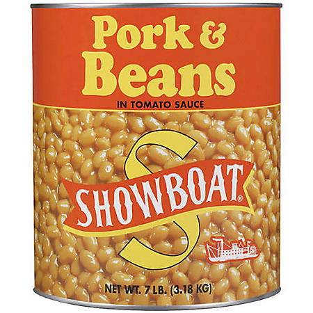 Showboat Pork & Beans (7 lbs.)