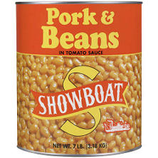 Showboat  Pork & Beans - 7 lbs.