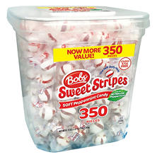 Bobs Sweet Stripes Square Tub (3.86 lbs., 350 ct.)