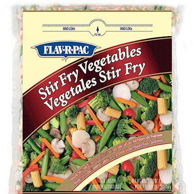 Flav-R-Pac Stir Fry Vegetables - 4.5 lb. bag
