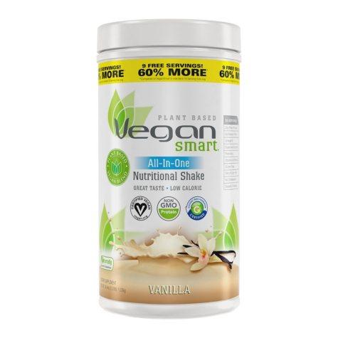 Naturade VeganSmart All-in-One Vanilla Nutritional Shake Dietary Supplement (36.4 oz.)
