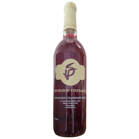 Spurgeon Vineyards Wisconsin Cranberry Wine (750 mL)