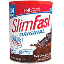 SlimFast! Chocolate Royale Shake Mix, 31.18 oz.