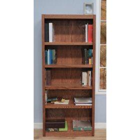 A Joffe 5 Shelf Single Wide Bookcase Select Color