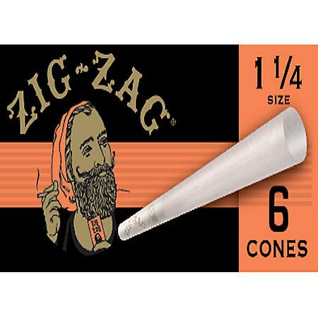 Zig-Zag Paper Cones (1 1/4 Size 6 pk., 4 ct.)