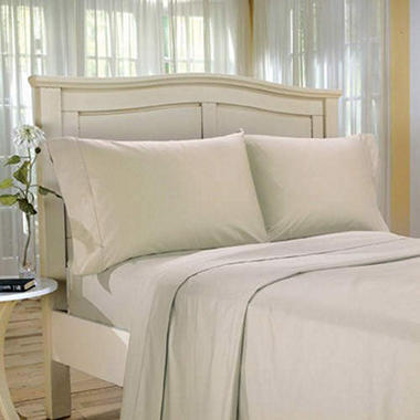 Egyptian Cotton 600 TC Sheet Set - White - King