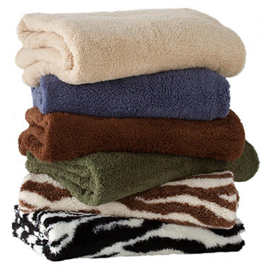 Feather Soft Throw