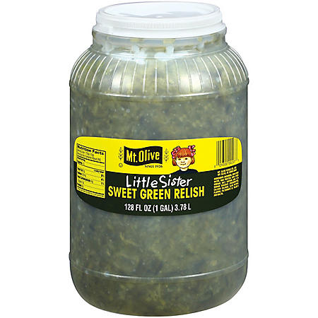 Mt. Olive Little Sister Sweet Green Relish (128 fl. oz.)