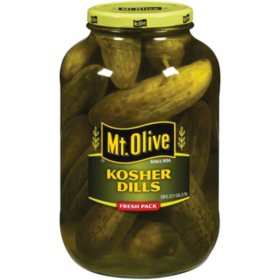 Mt. Olive Kosher Dills Fresh Pack Pickles (128 fl. oz.)