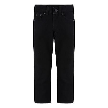 Levi's Boys' (4-12) 511 Slim Fit Black Stretch Jeans