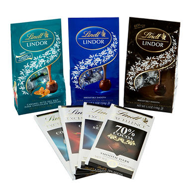 Lindt LINDOR Dark Chocolate Collection