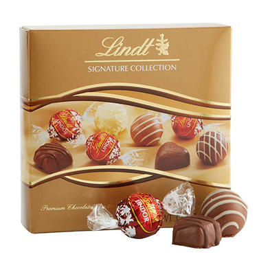 Lindt LINDOR Boxed Chocolate Sampler