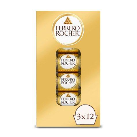 Ferrero Rocher Hazelnut Chocolates (1.3 oz., 12 pk.)