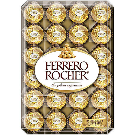 Ferrero Rocher Hazelnut Chocolates (48ct., 21.1 oz.)