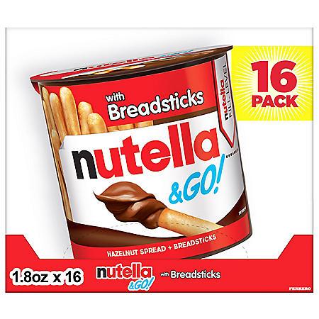 Nutella & Go (1.8 oz., 16 ct.)