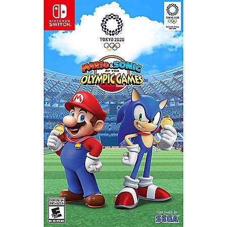 Mario & Sonic Olympics Tokyo (Nintendo Switch)