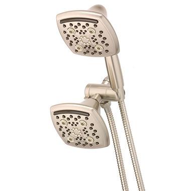 Oxygenics Marvel Combo 48-Setting Brushed Nickel Shower System ...