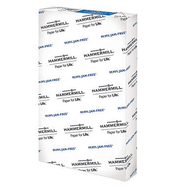 Hammermill - Copy Plus Copy Paper, 20lb, 92 Bright, 11 x 17