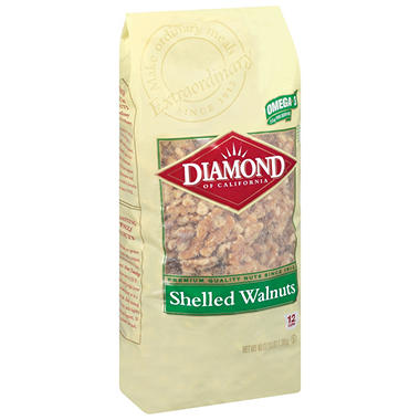 Diamond® Shelled Walnuts - 48 oz.