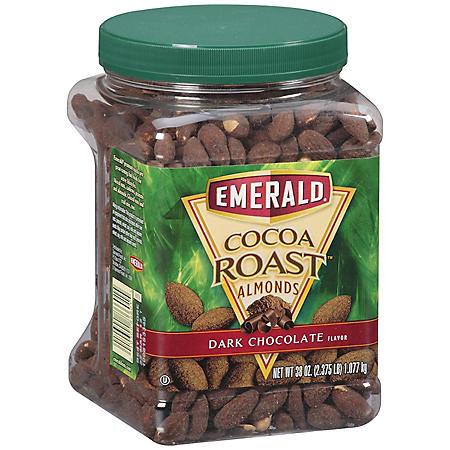 Emerald® Cocoa Roast™ Dark Chocolate Almonds