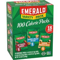 18 Count Emerald Nuts 100 Calorie Variety Pack