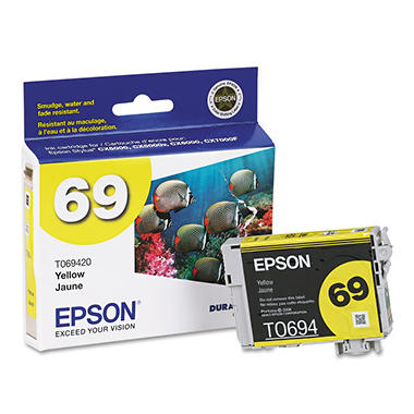 Epson T069420 Ink, Yellow