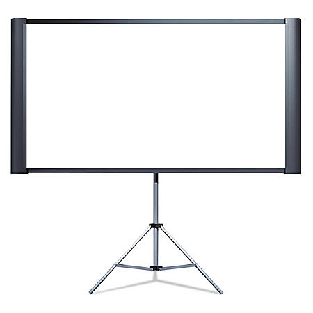 "Epson - Duet Ultra Portable Projection Screen -  80"" Widescreen"