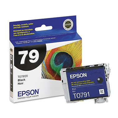 Epson 79 Claria Ink Cartridge, Select Color (810 Page Yield)