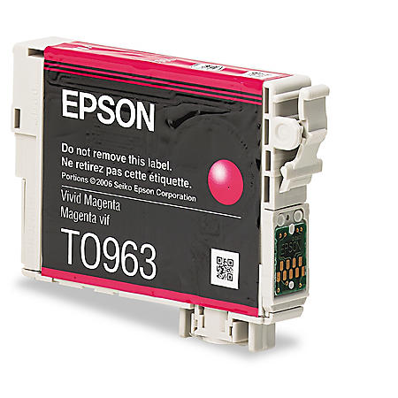 Epson 96 Series Ink, Magenta (T096320, 430 Page Yield)