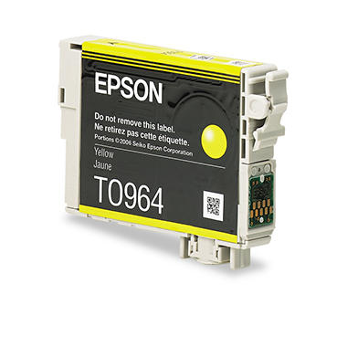 Epson 96 Series Ink, Yellow (T096420, 430 Page Yield)