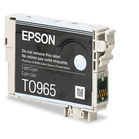 Epson 96 Series Ink, Light Cyan (T096520, 430 Page Yield)
