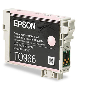 Epson 96 Series Ink, Light Magenta (T096620, 450 Page Yield)