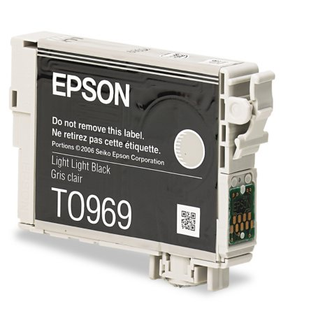 Epson 96 Series Ink, Light Black (T096920, 450 Page Yield)
