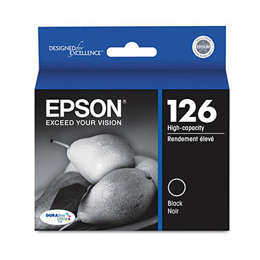 Epson 126 High-Yield Ink, Black