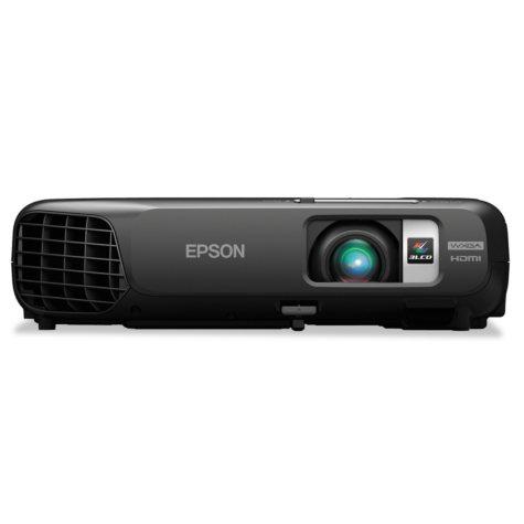 Epson - PowerLite 1262W Multimedia Projector, 3000 Lumens, 1280 x 800 Pixels -  1.2x Zoom