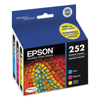 Epson 252 DURABrite Ultra Ink Color Multi-Pack