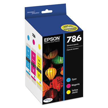 Epson 786 DURABrite Ultra Ink Color Multi-Pack (T786520)