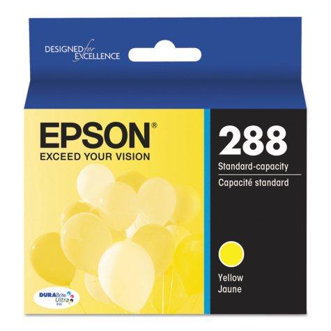 Epson T288 Standard-Yield DURABrite Ultra Inks, Yellow