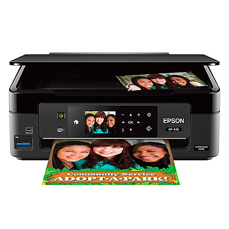 Epson Expression Home XP-446 Small-in-One Wireless Printer