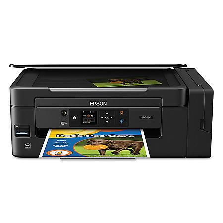 Epson Expression ET-2650 EcoTank Multifunction Printer