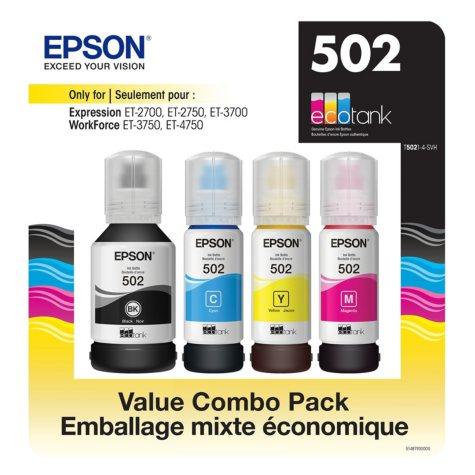 Epson EcoTank 502 Ink Bottles Value Club Pack