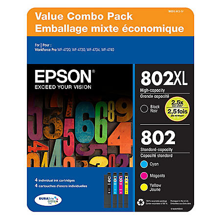 Epson DURABrite Ultra 802 Ink Value Club Pack