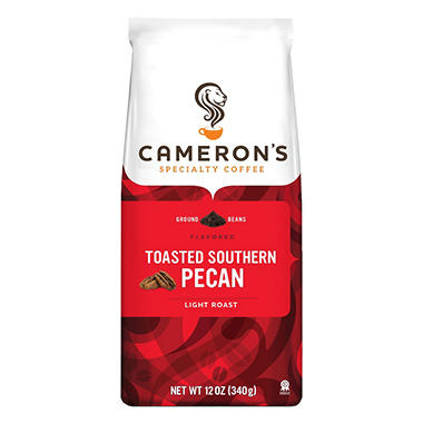 Cameron's Toasted Southern Pecan Ground Coffee (12 oz., 3 pk.)