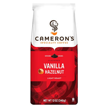 Cameron's Vanilla Hazelnut Ground Coffee (12 oz., 3 pk.)