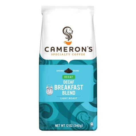 Cameron's Breakfast Blend Decaffeinated Ground Coffee - 12 oz. - 3 pk.
